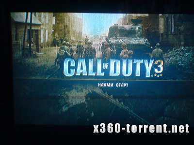 Call of Duty 3 (RUSSOUND) Xbox 360