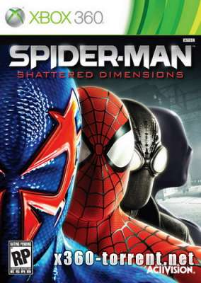 Spider-Man Shattered Dimensions (RUS) Xbox 360