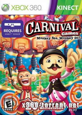 Carnival Games: Monkey See, Monkey Do!  Xbox 360 Kinect