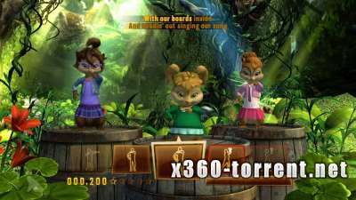 Alvin and the Chipmunks: Chipwrecked Xbox 360 Kinect