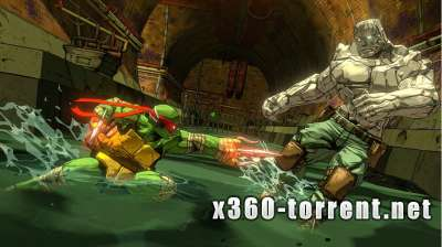 Teenage Mutant Ninja Turtles. Mutants in Manhattan Xbox 360