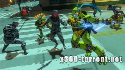 Teenage Mutant Ninja Turtles- Mutants in Manhattan (FreeBoot) Xbox 360