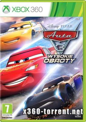 Cars 3. Driven to Win / Тачки 3. Навстречу Победе (RUS/ENG/MULTi9) Xbox 360