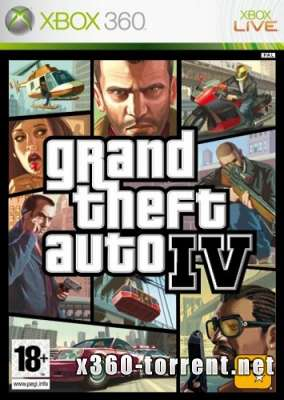 Grand Theft Auto IV (GTA 4) (FreeBoot) (+DLC) (RUS) Xbox 360