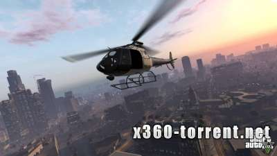 Grand Theft Auto V (GTA 5) (DLC) (FreeBoot) (RUS) Xbox 360