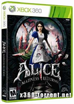 Alice. Madness Returns (RUS) Xbox 360
