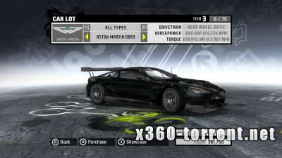 Need For Speed. ProStreet (+DLC +TU) (FreeBoot) (JTAG) (ENG) Xbox 360