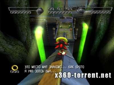 Shadow The Hedgehog (FreeBoot) (GOD) (RUS) XBOX360E