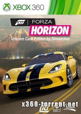 Forza Horizon Unicorn Cars Edition (+ALL DLC) (FreeBoot) (GOD) (RUSSOUND/ENG/MULTi21) Xbox 360