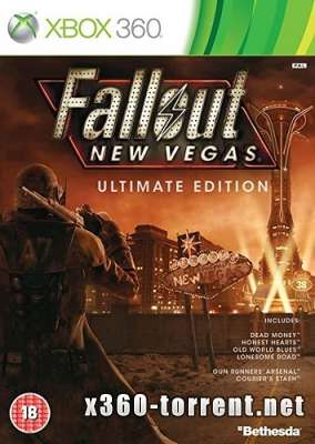 Fallout New Vegas Полное издание (+DLC) (FreeBoot) (GOD) (RUSSOUND) Xbox 360