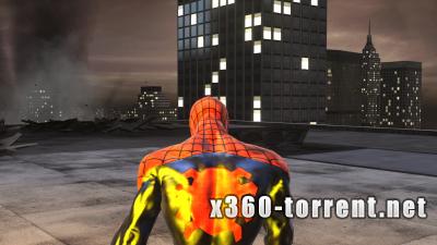 Spider-Man: Web of Shadows (FreeBoot) (GOD) (RUS) Xbox 360