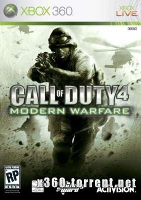 Call of Duty 4: Modern Warfare (FreeBoot) (JTAG-Rip) (RUSSOUND/ENG) Xbox 360
